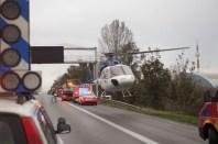 landen op plaatsen waar ambulance niet bij kan